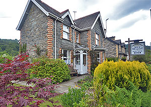 gorphwysfa bed and breakfast at the edge of Betws-y-Coed in Snowdonia